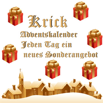 Adventskalender im Shop